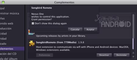 Aplicaciones para escuchar música. Songbird