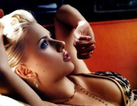 Scarlett Johansson no devora hombres