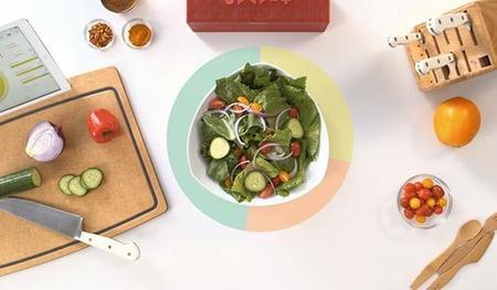 Prep Pad es perfecto para medir lo que comemos