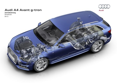 Audi A4 Avant G Tron 2