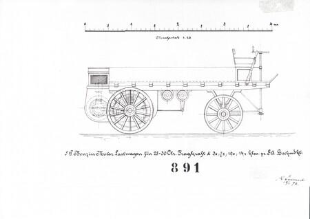 Primer camion de la historia