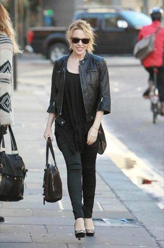 Kyle Minogue Duelo de estilos en looks de calle