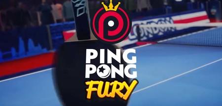 Ping Pong Fury, el tenis de mesa más divertido con partidas online y control táctil
