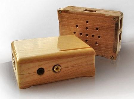 parte superior e inferior de la caja