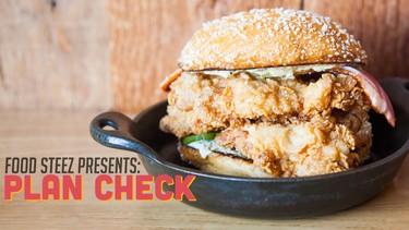 El nuevo ingrediente de las hamburguesas: cuadrados de cátsup