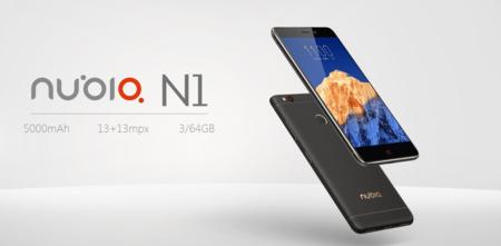 ZTE Nubia N1, con 3GB de RAM y 5.000mAh de batería, por sólo 139 euros y envío gratis desde España