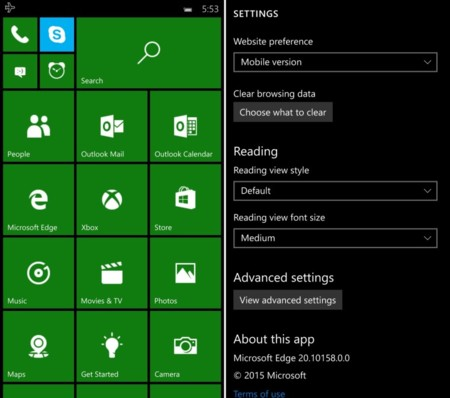 Windows 10 Mobile 10158 2 Story