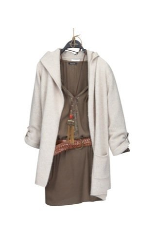 Lookbook Massimo Dutti Otoño-Invierno 2010/2011, vestido corto