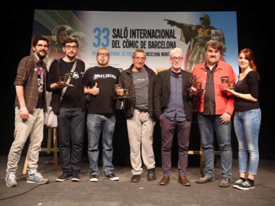 Enrique Sánchez Abulí, Gran Premio del Salón del Cómic de Barcelona 2015