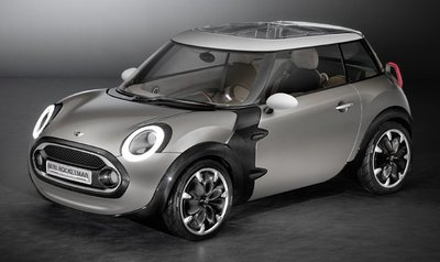 Mini Rocketman Concept, tan pequeño como el Mini original
