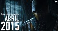 Guía de lanzamientos: abril de 2015