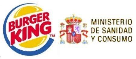 Sanidad rompe con Burger King