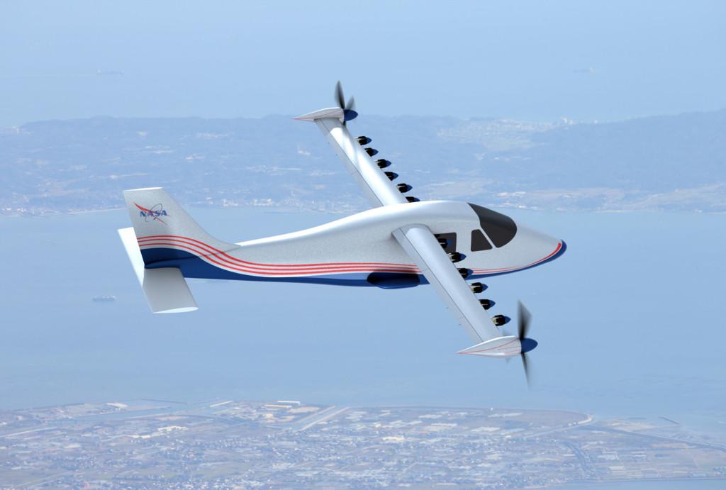 Maxwell X 57 Plane