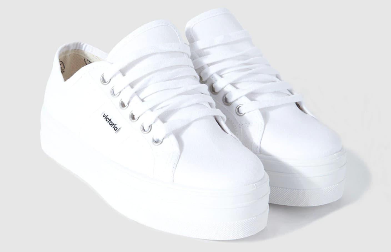 Zapatillas de lona de mujer