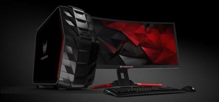 El Acer Predator G6-710 con sus 64 GB de RAM es de lo más bestia que verás este año en PCs para juegos