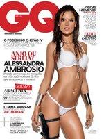 Alessandra Ambrosio portada de la primera publicación GQ Brasil