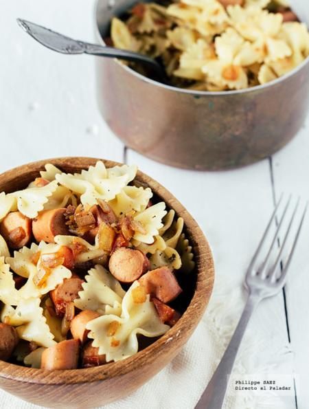 Paseo por la gastronomía de la red: exquisitas recetas de pasta