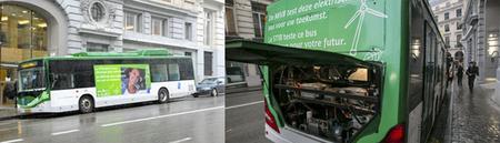 El autobús eléctrico BYD eBUS-12 inicia sus pruebas en Bruselas