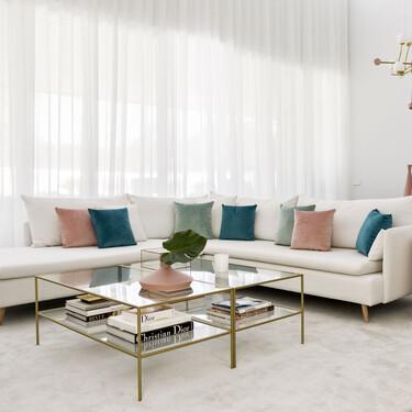 """Casas de famosos; estilo """"glam"""" y ambientes cálidos, las claves de la casa de Paula Echevarría"""