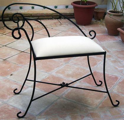 silla de forja abacoarte