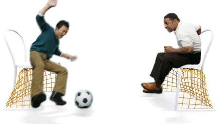 Sillas porteria para el auténtico sitting ball