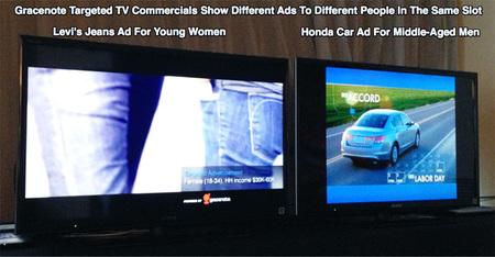 El año 2013 nos depara televisores con anuncios personalizados