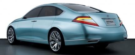 Nissan Intima Concept: berlina de lujo nipona con estilo europeo