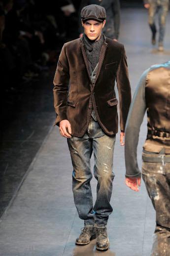 Dolce & Gabbana, Otoño-Invierno 2010/2011 en la Semana de la Moda de Milán