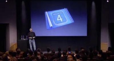 Ya disponible el vídeo oficial de la presentación del iPhone OS 4.0