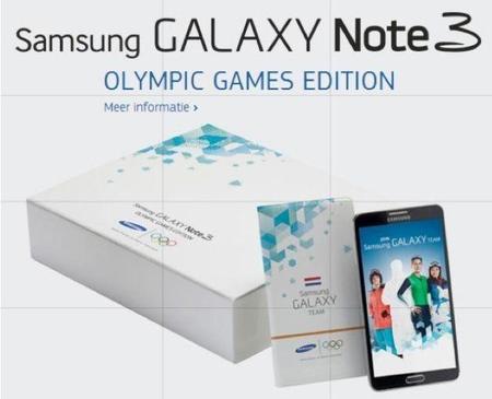 Samsung Galaxy Note 3 Olympic Edition