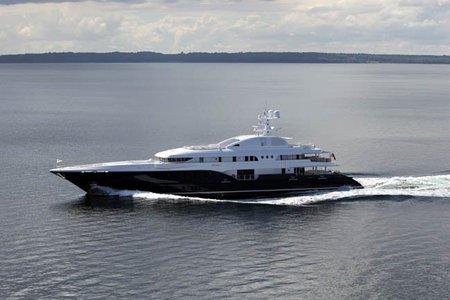 Sycara V, espectacular barco de lujo