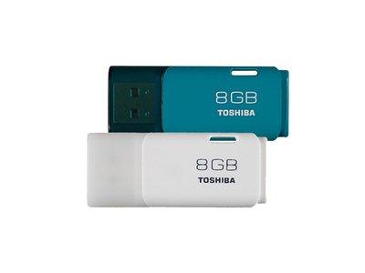 Toshiba Hayabusa de 8 Gb, un pendrive USB 2.0 que, este fin de semana, nos sale por menos de 5 euros en eBay