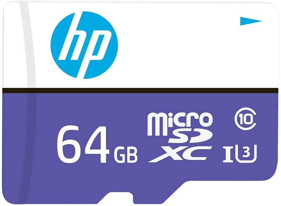 Tarjeta microSD HP de 164 GB, Clase 10 U3, 100 MB/s