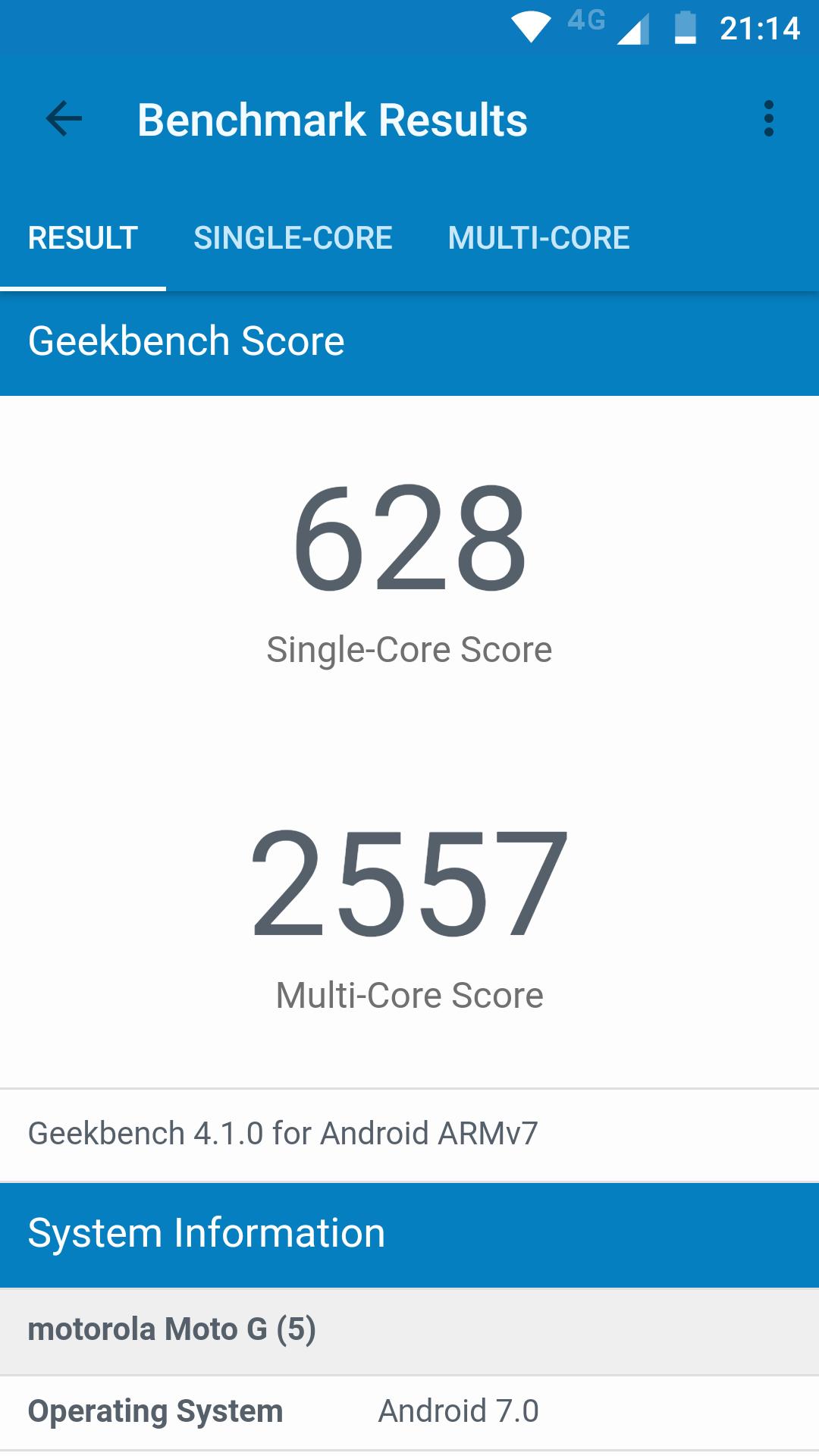 Foto de Benchmarks Moto G5 (3/6)