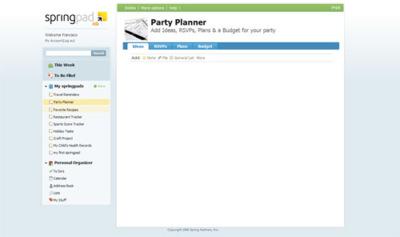 SpringPad, organiza tu vida a través de las diferentes libretas de anotaciones