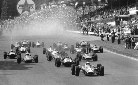 Salida GP Bélgica 1967