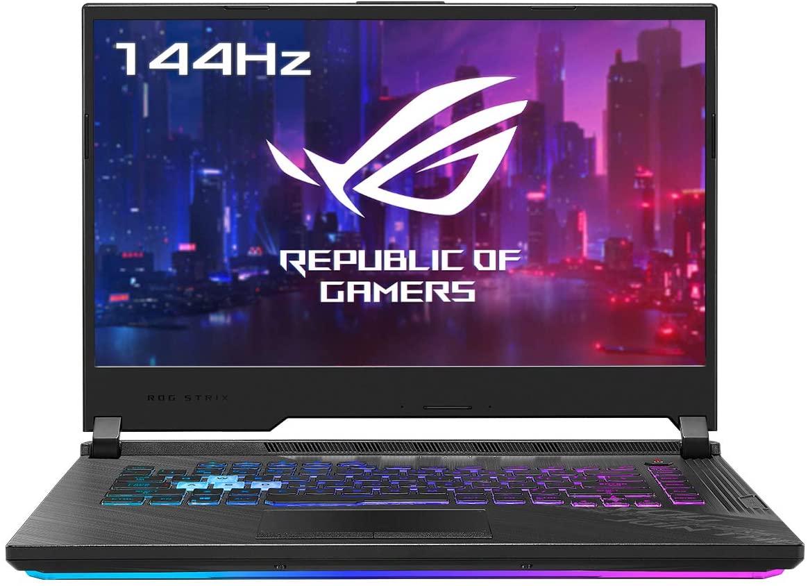 "ASUS ROG Strix G15 G512LW-HN149 - Portátil Gaming de 15.6 "" FullHD 144Hz (Intel Core i7-10875H, 32GB RAM, 1TB SSD, NVIDIA RTX2070-8GB, Sin Sistema Operativo) Negro Original - Teclado QWERTY español"