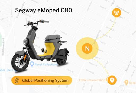 Segway Emoped C80, ciclomotor eléctrico