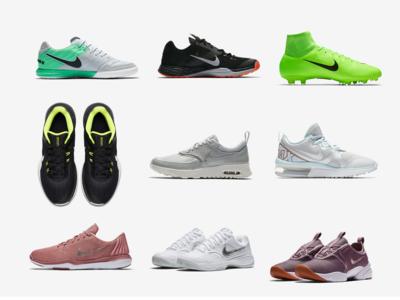 Rebajas de Fin de Temporada de Nike, 9 Zapatillas con hasta un 40% de descuento.