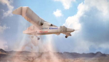 DARPA nos desvela el diseño de su último VTOL, aterriza y despega de forma vertical