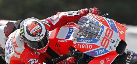 """Jorge Lorenzo el nuevo carenado de Ducati: """"Me da más confianza, favorece mi estilo y puedo ser más rápido"""""""