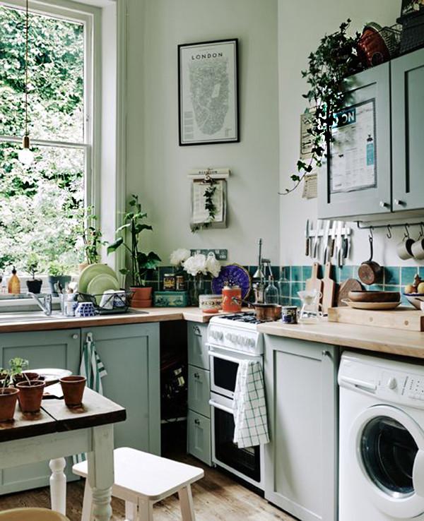 17 Ideas Prácticas Para Decorar La Cocina Con Plantas Y