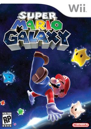 Portada Norteamericana De Super Mario Galaxy