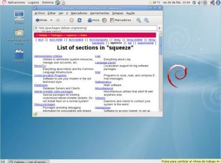 Lanzada la primera versión Alpha de Debian 6.0