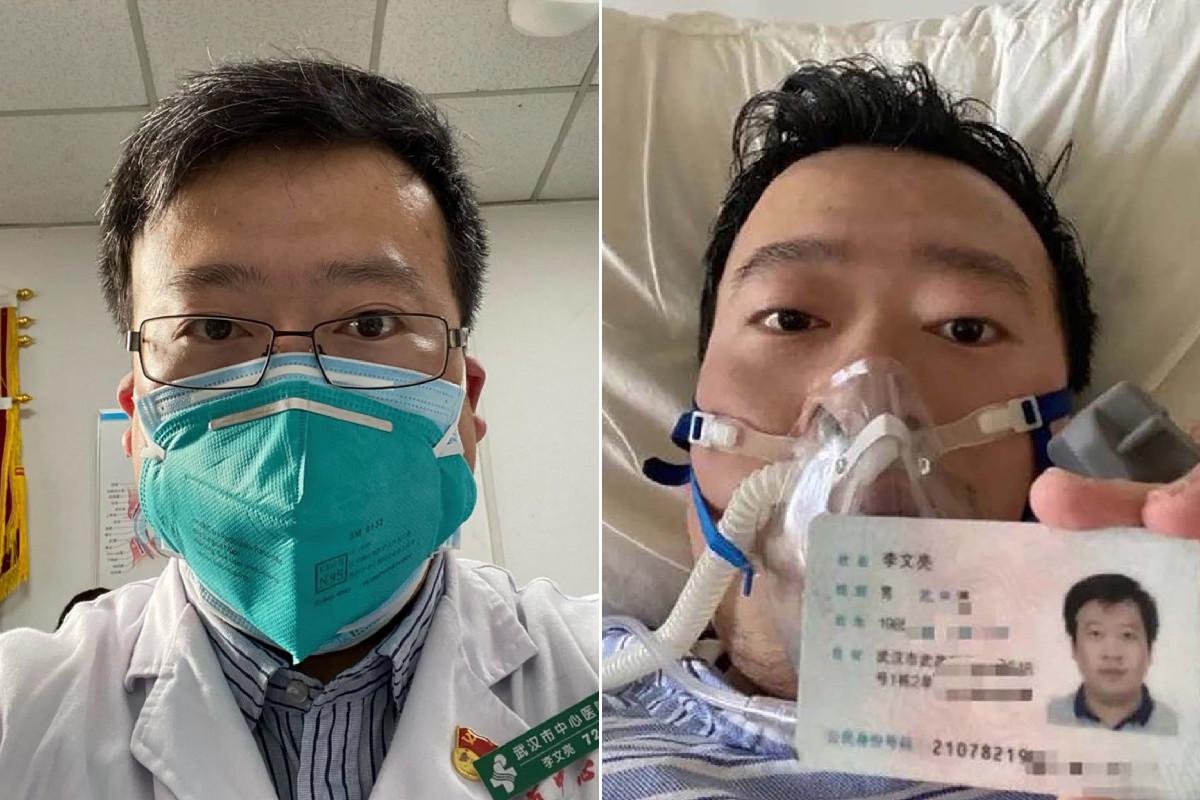 Li Wenliang, el doctor que alertó sobre el coronavirus, fue ...