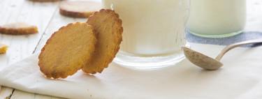 Cookies de limón y polenta: receta de galletas SIN (sin gluten, sin huevo, sin mantequilla y sin azúcar)