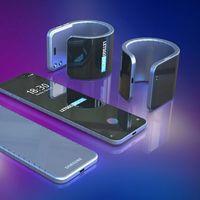 Samsung ya tiene su patente para un móvil plegable que podemos llevar en la muñeca