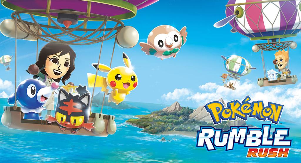 Probamos Pokémon Rumble Rush: el reciente videojuego de acción del que ya puedas descargar su APK
