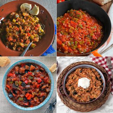 Pisto de verduras: las mejores nueve recetas del clásico plato veraniego