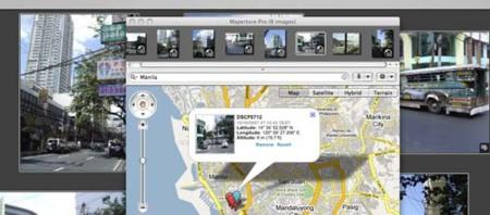 Maperture Pro 1.2, geolocaliza tus fotos en Aperture